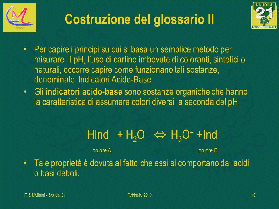 Costruzione del glossario II
