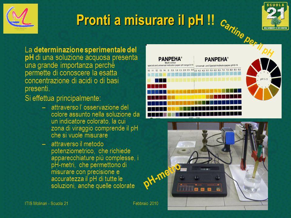 Pronti a misurare il pH !! pH-metro Cartine per il pH