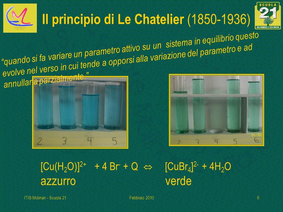 Il principio di Le Chatelier (1850-1936)