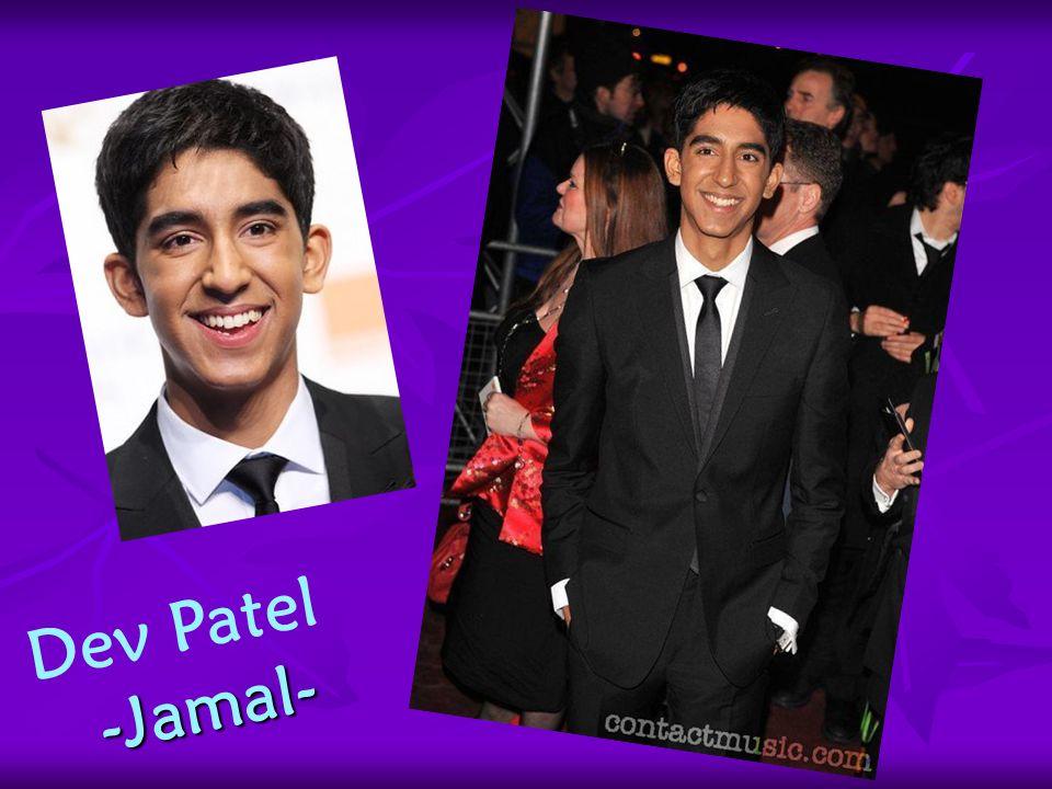 Dev Patel -Jamal-
