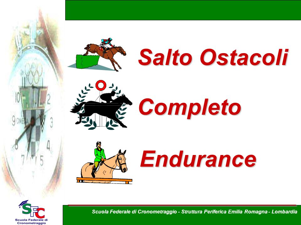Salto Ostacoli Completo Endurance