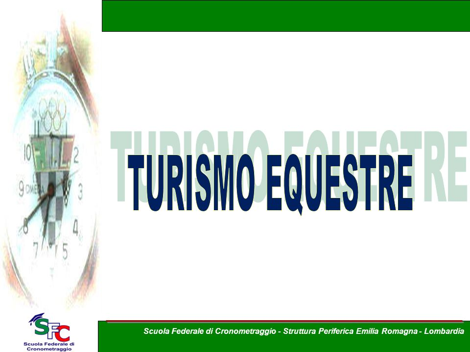 TURISMO EQUESTRE A cura Andrea Pederzoli
