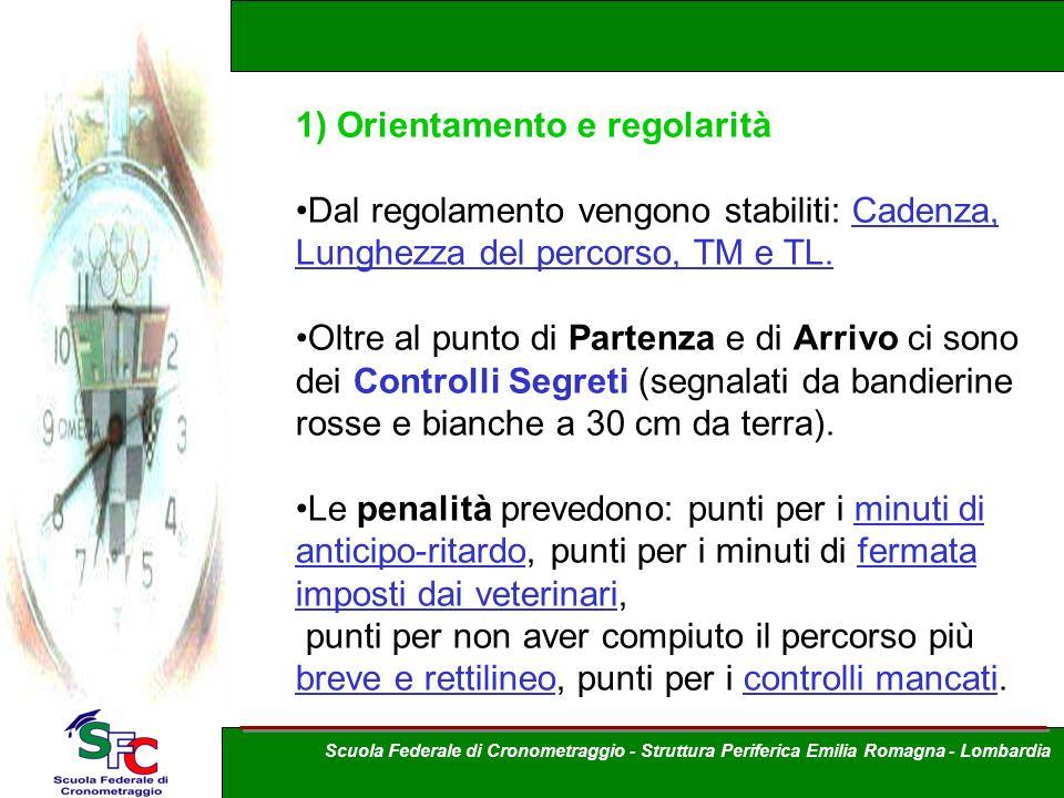 1) Orientamento e regolarità