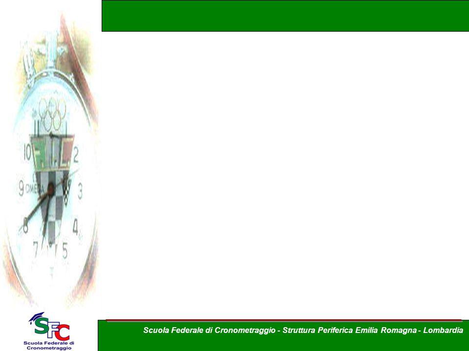 Scuola Federale di Cronometraggio - Struttura Periferica Emilia Romagna - Lombardia