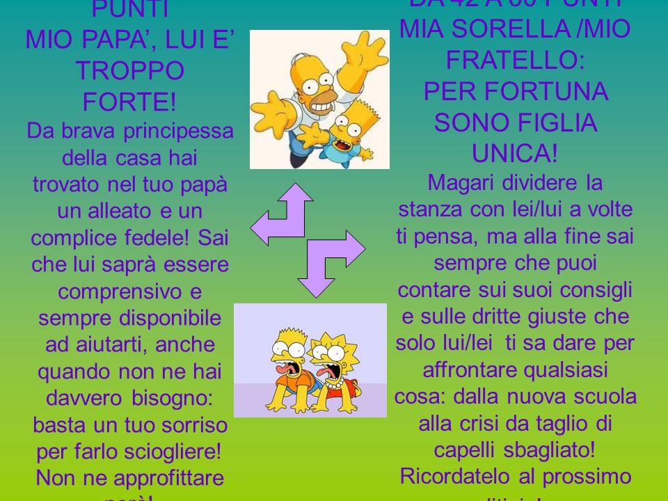 MIA SORELLA /MIO FRATELLO: PER FORTUNA SONO FIGLIA UNICA!