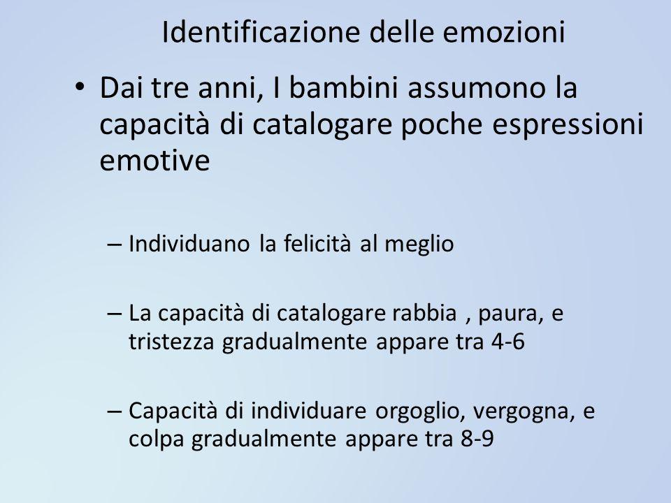 Identificazione delle emozioni