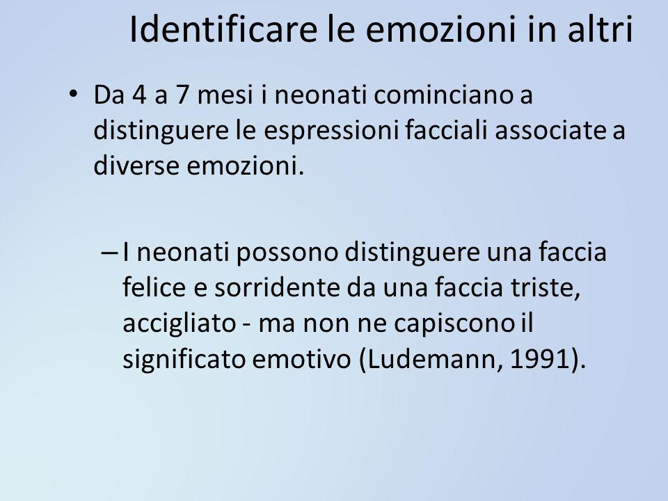 Identificare le emozioni in altri