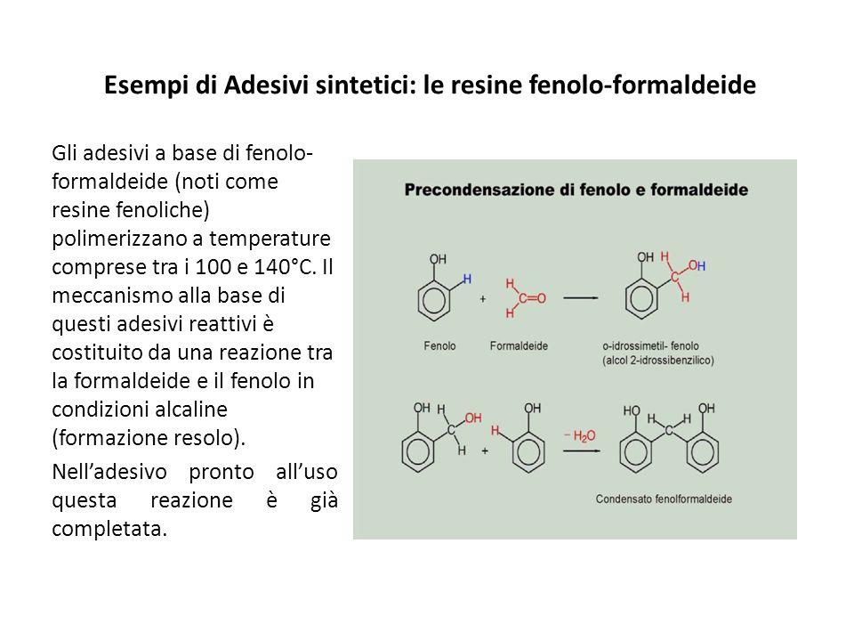 Esempi di Adesivi sintetici: le resine fenolo-formaldeide
