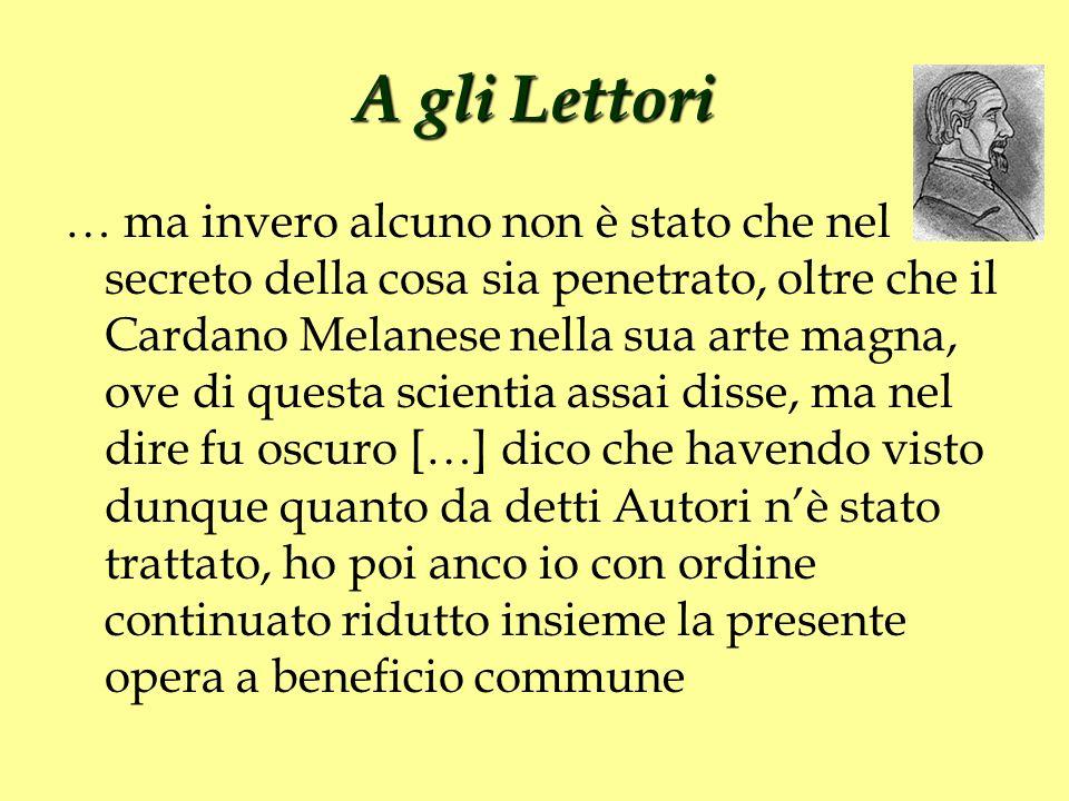 A gli Lettori
