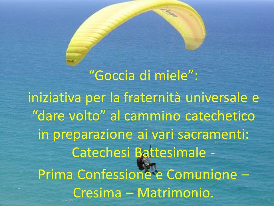 Prima Confessione e Comunione – Cresima – Matrimonio.
