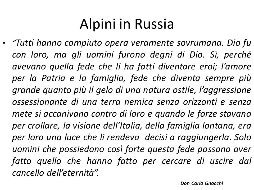 Alpini in Russia