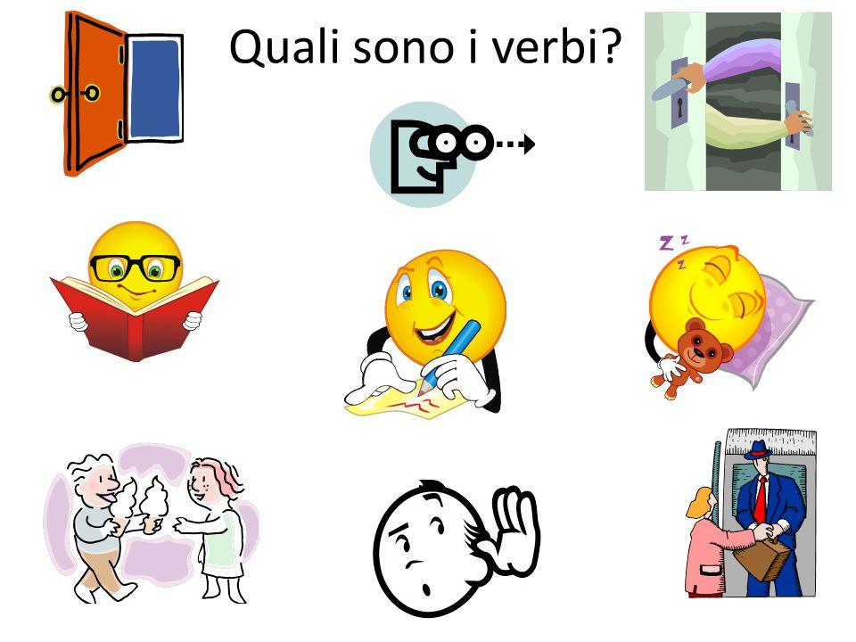 Quali sono i verbi