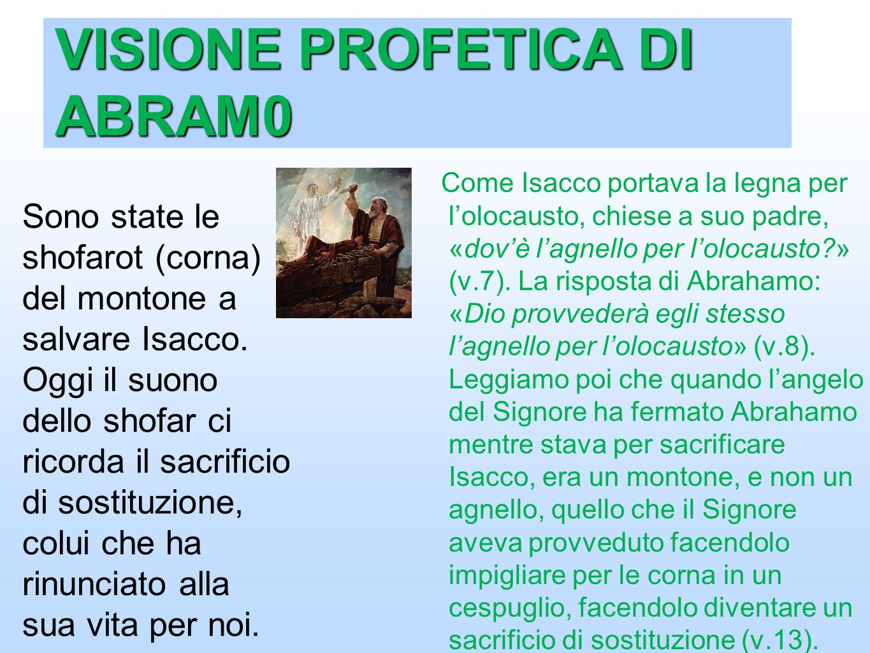 VISIONE PROFETICA DI ABRAM0