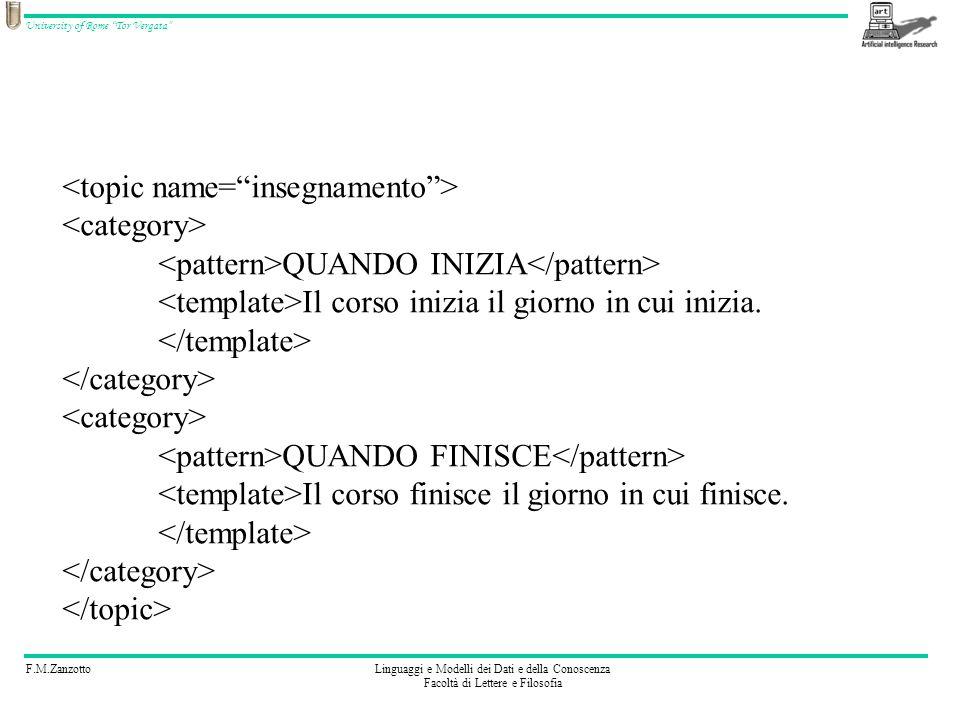 <topic name= insegnamento >