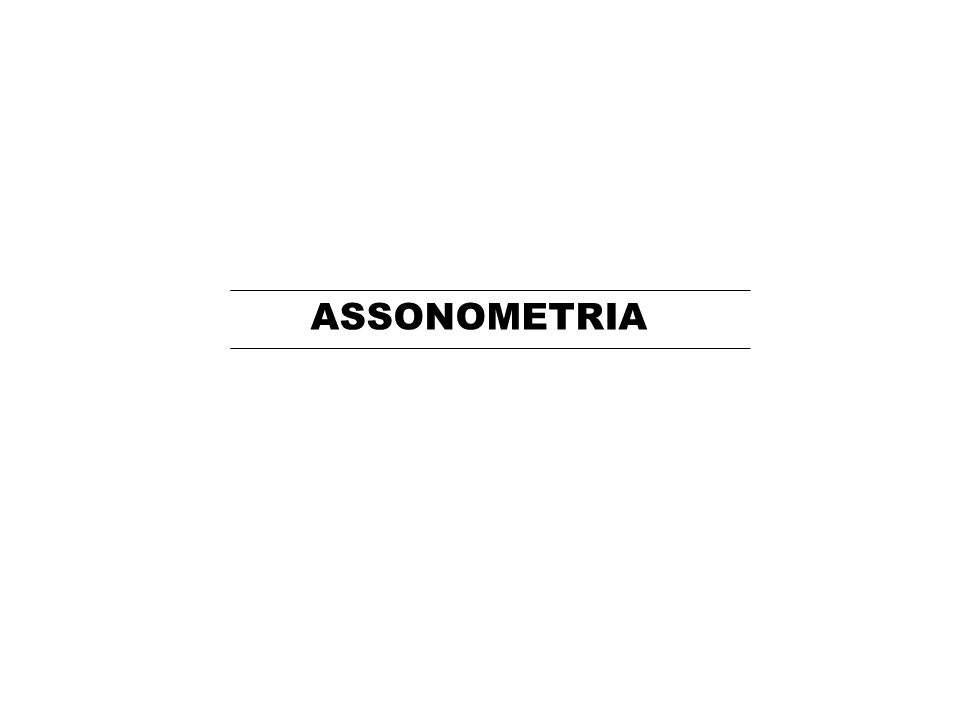 ASSONOMETRIA