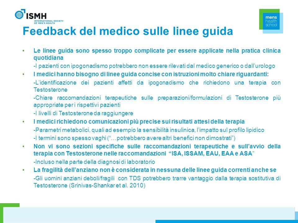 Feedback del medico sulle linee guida