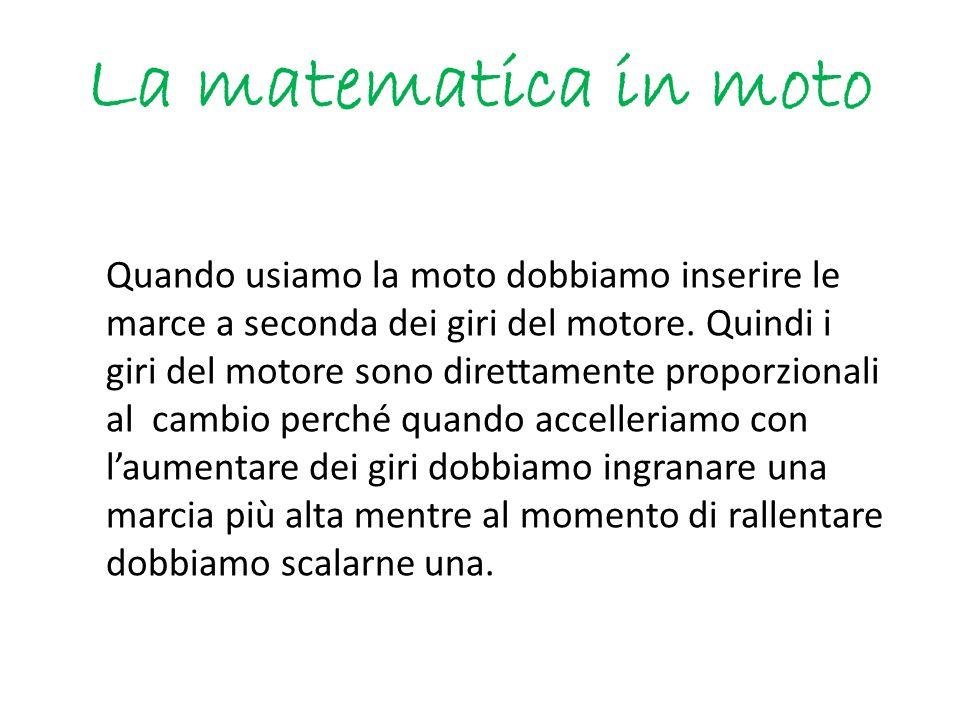 La matematica in moto