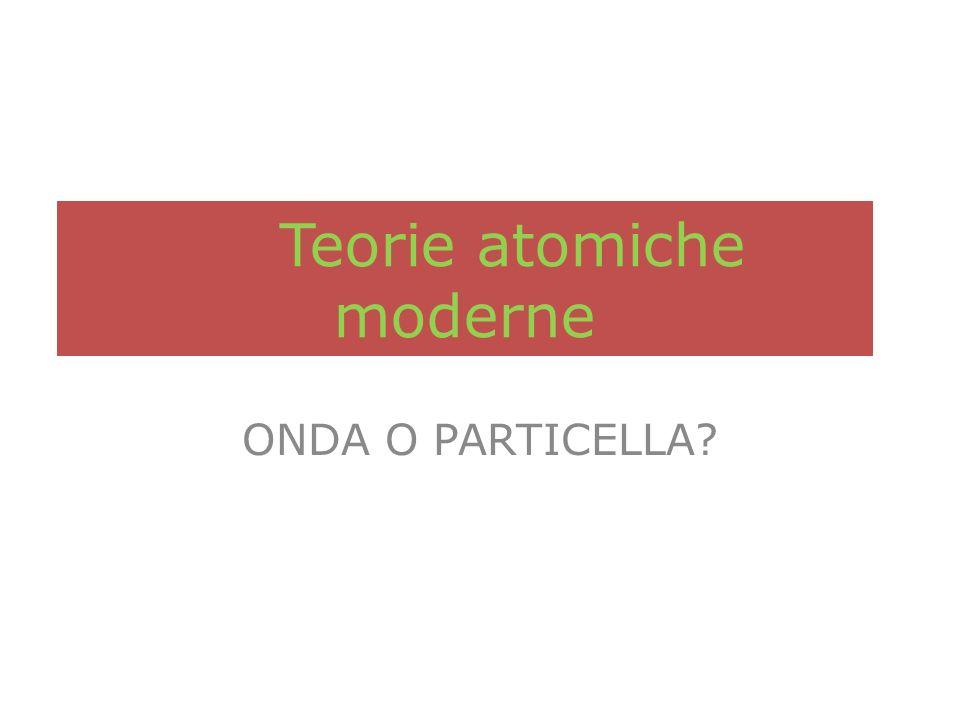Teorie atomiche moderne