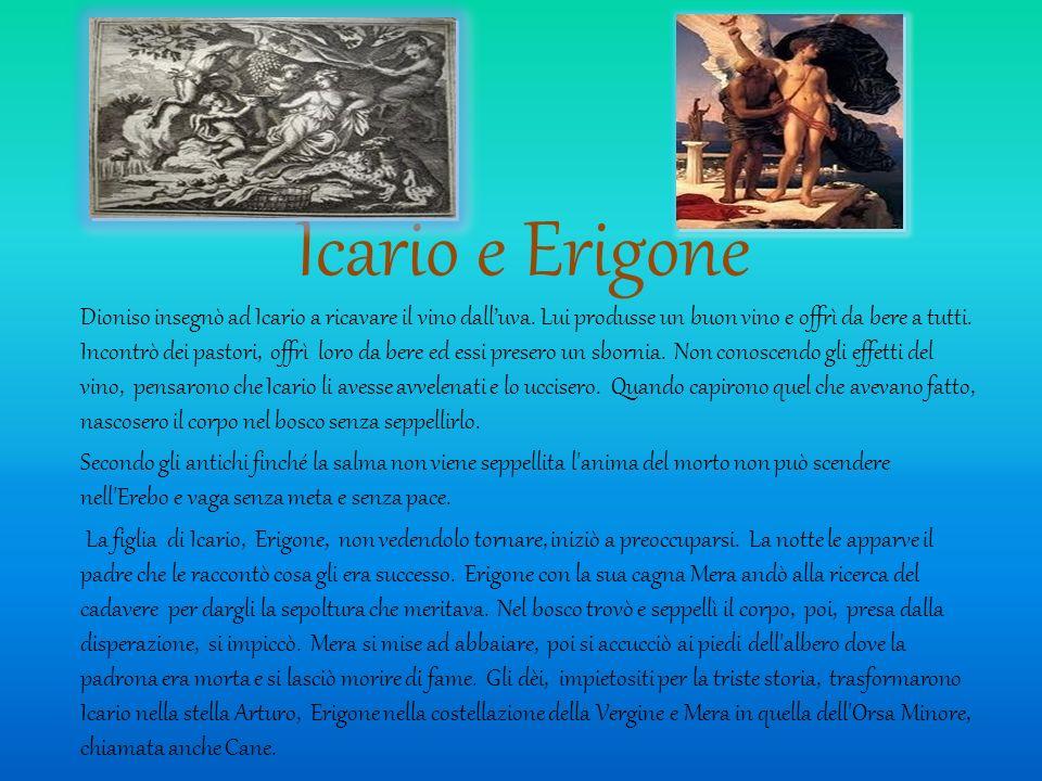 Icario e Erigone