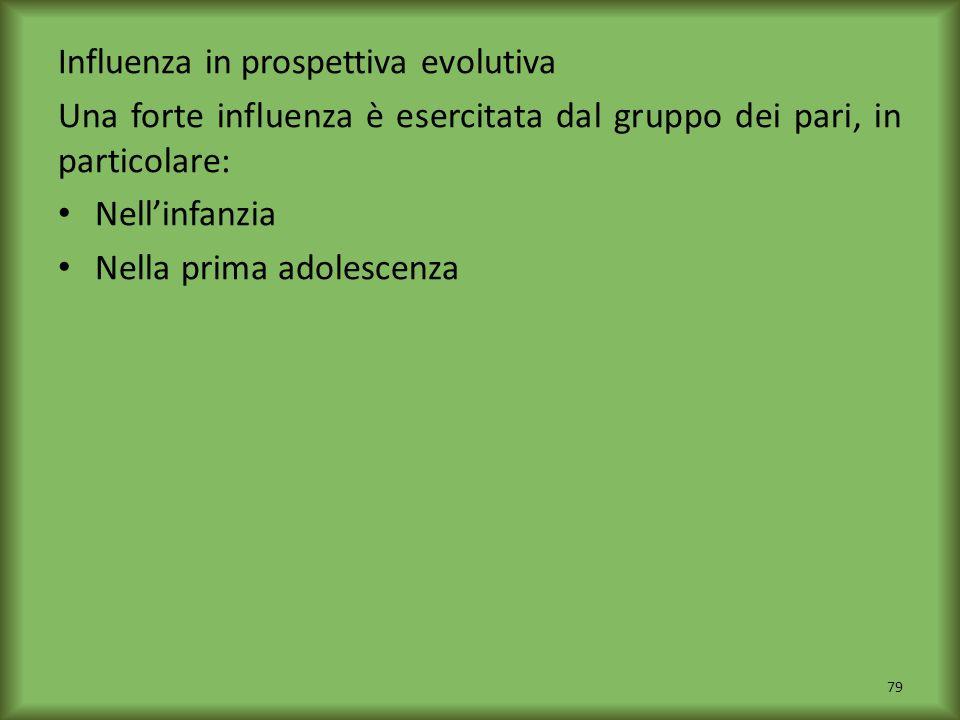 Influenza in prospettiva evolutiva