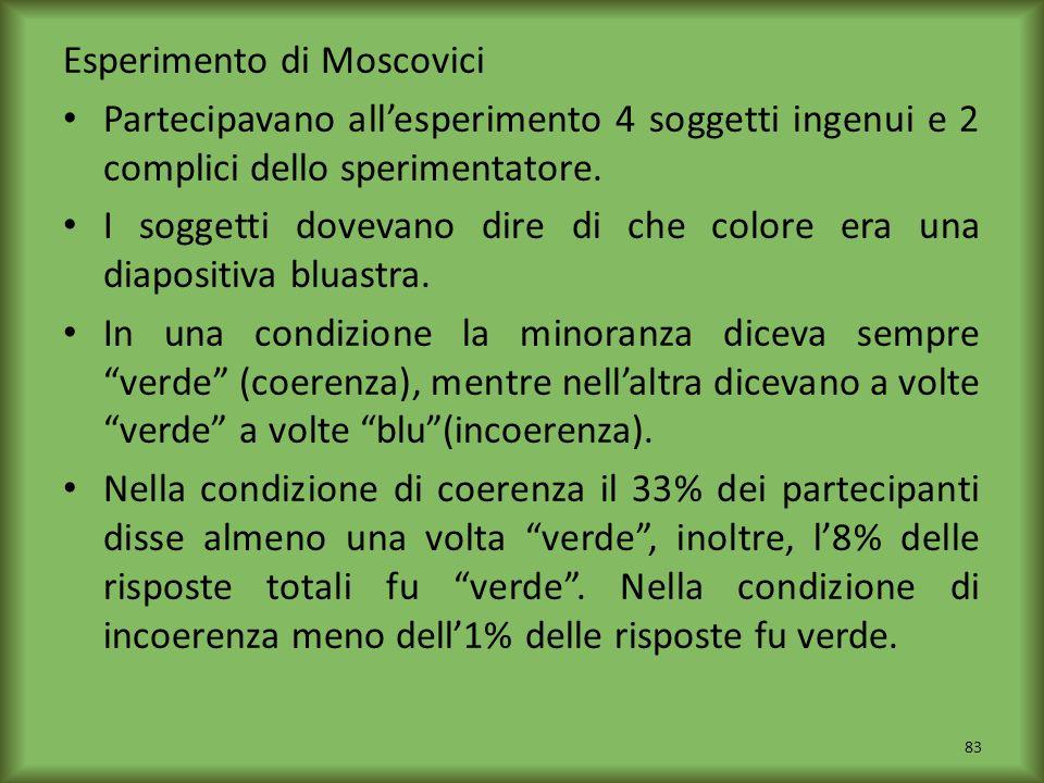 Esperimento di Moscovici