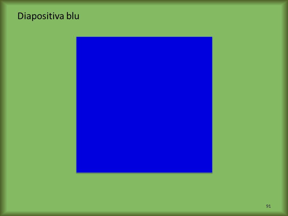 Diapositiva blu