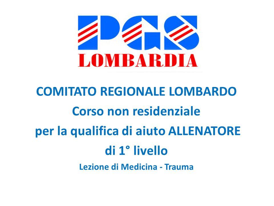 COMITATO REGIONALE LOMBARDO Corso non residenziale