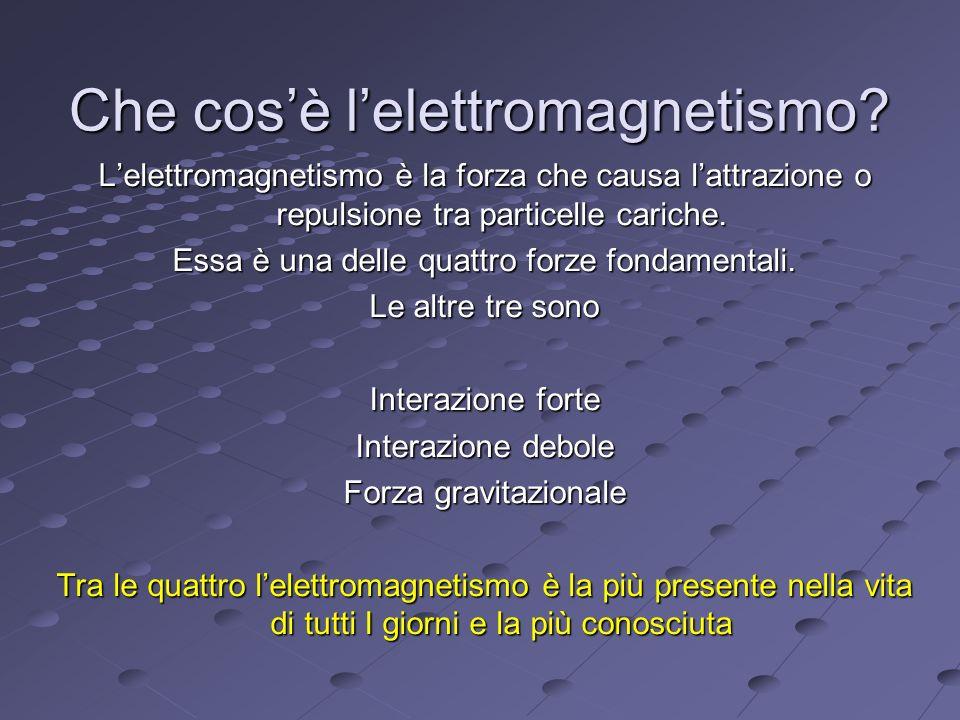 Che cos'è l'elettromagnetismo