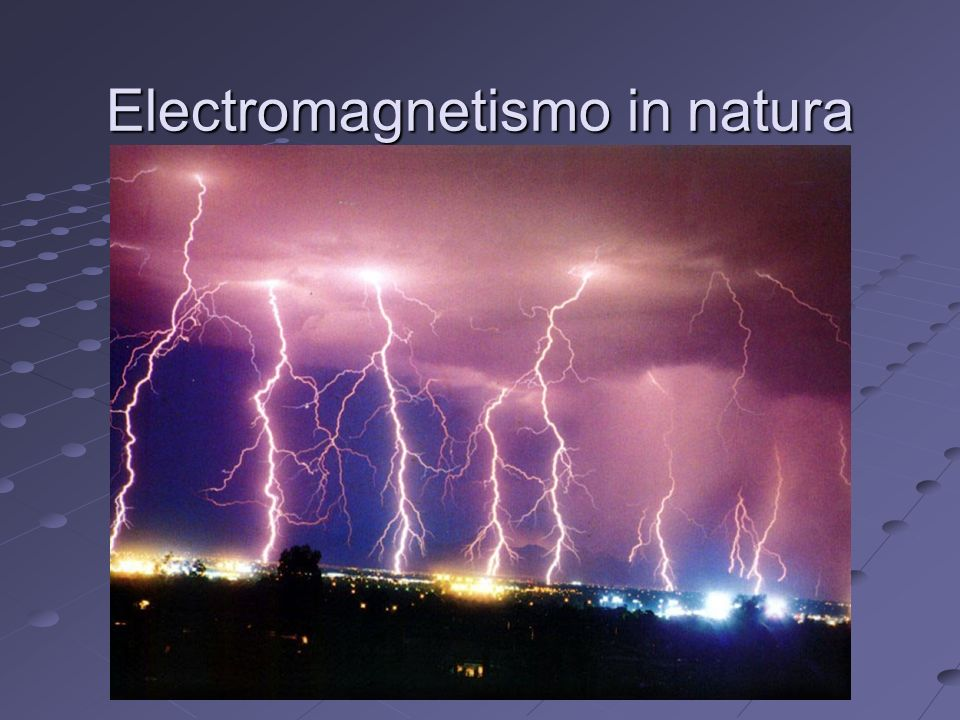 Electromagnetismo in natura