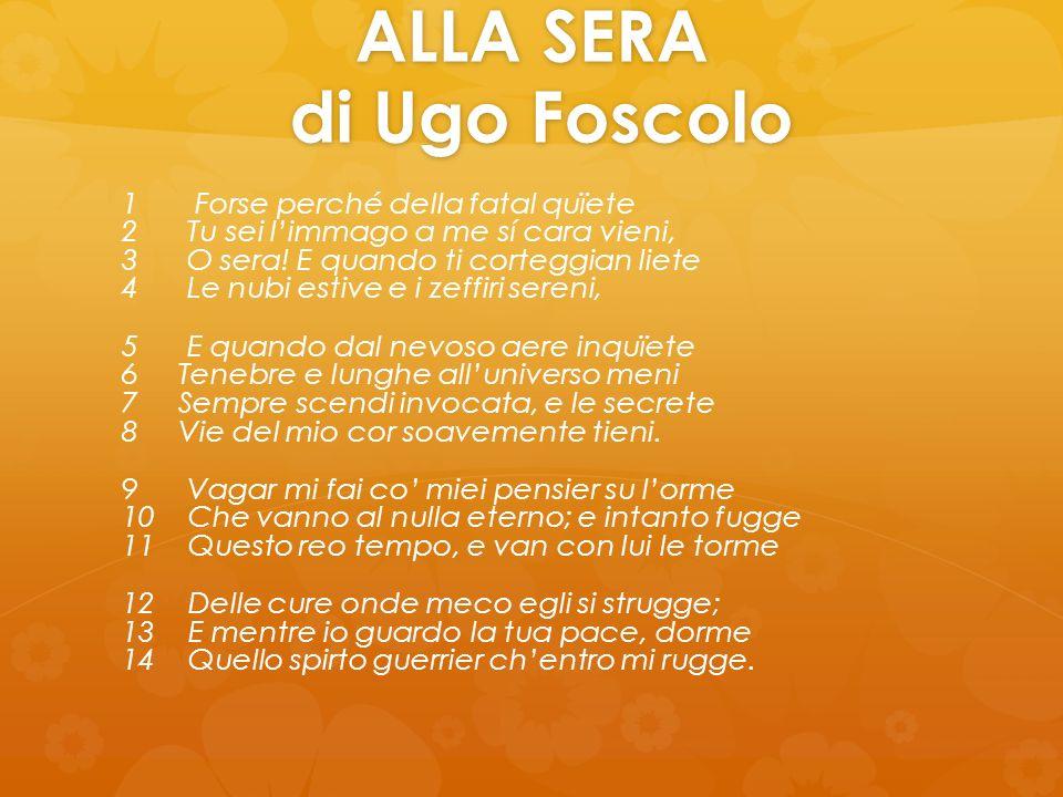 Di Ugo Foscolo Maria Jose Lucia E Filippo Ppt Video