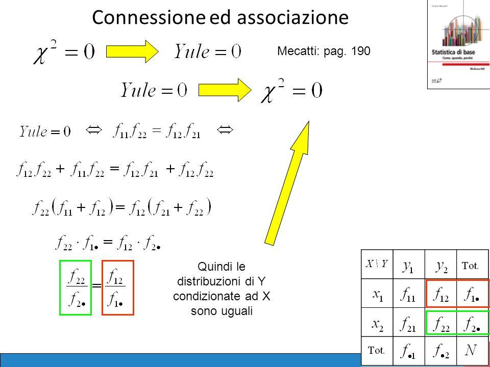 Connessione ed associazione