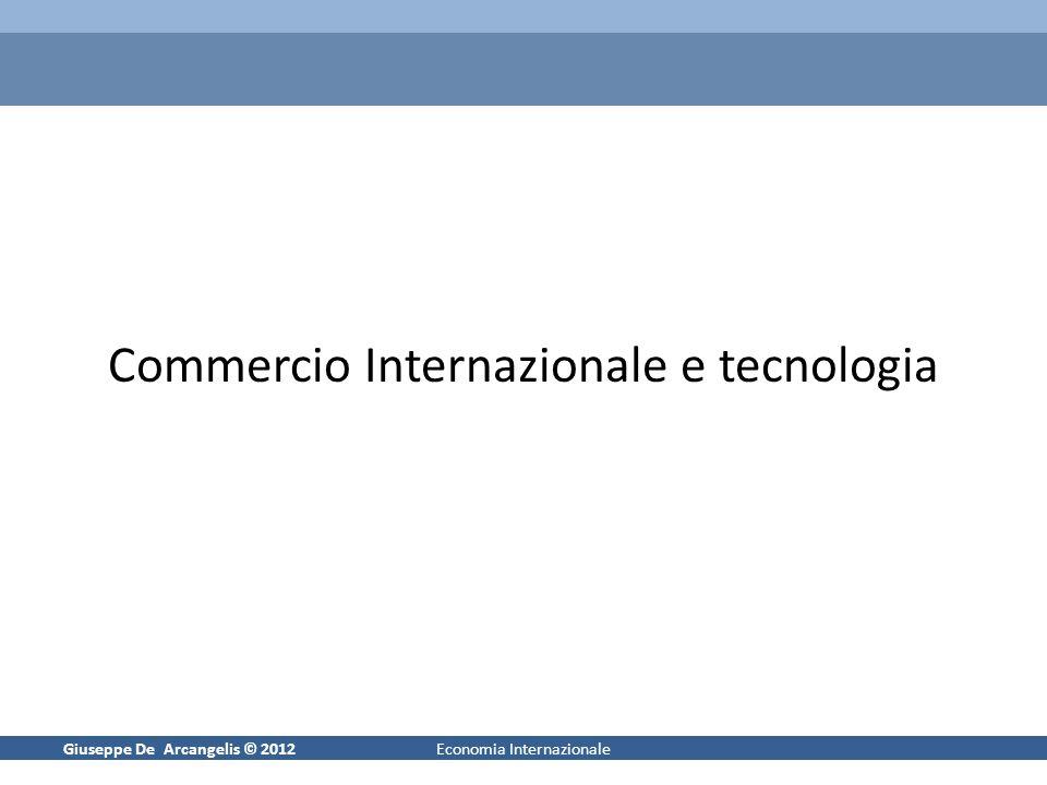 Commercio Internazionale e tecnologia