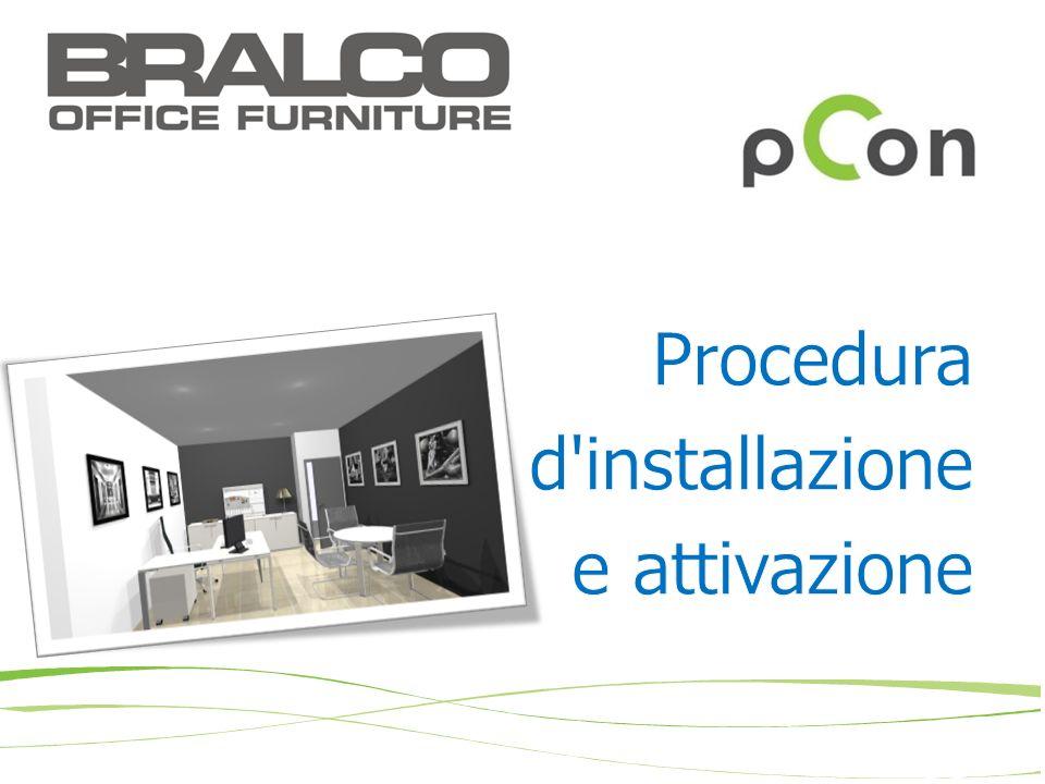 Procedura d installazione e attivazione