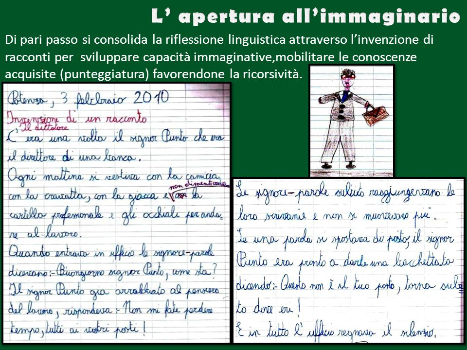 L' apertura all'immaginario