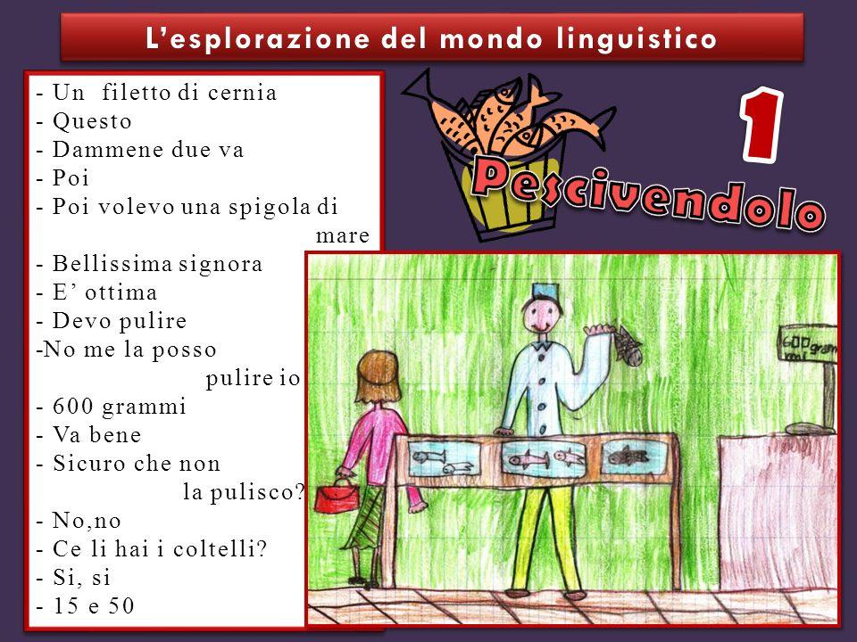 L'esplorazione del mondo linguistico
