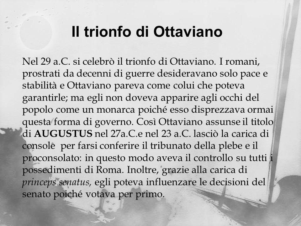 Il trionfo di Ottaviano