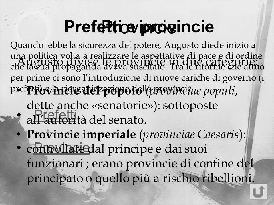 Provincie Prefetti e provincie Prefetti Provincie