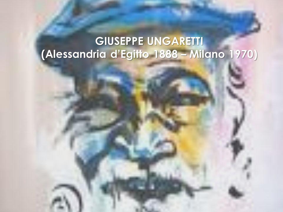 (Alessandria d'Egitto 1888 – Milano 1970)