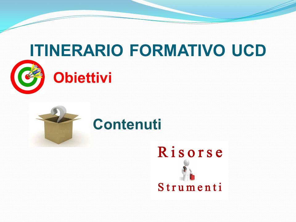 ITINERARIO FORMATIVO UCD