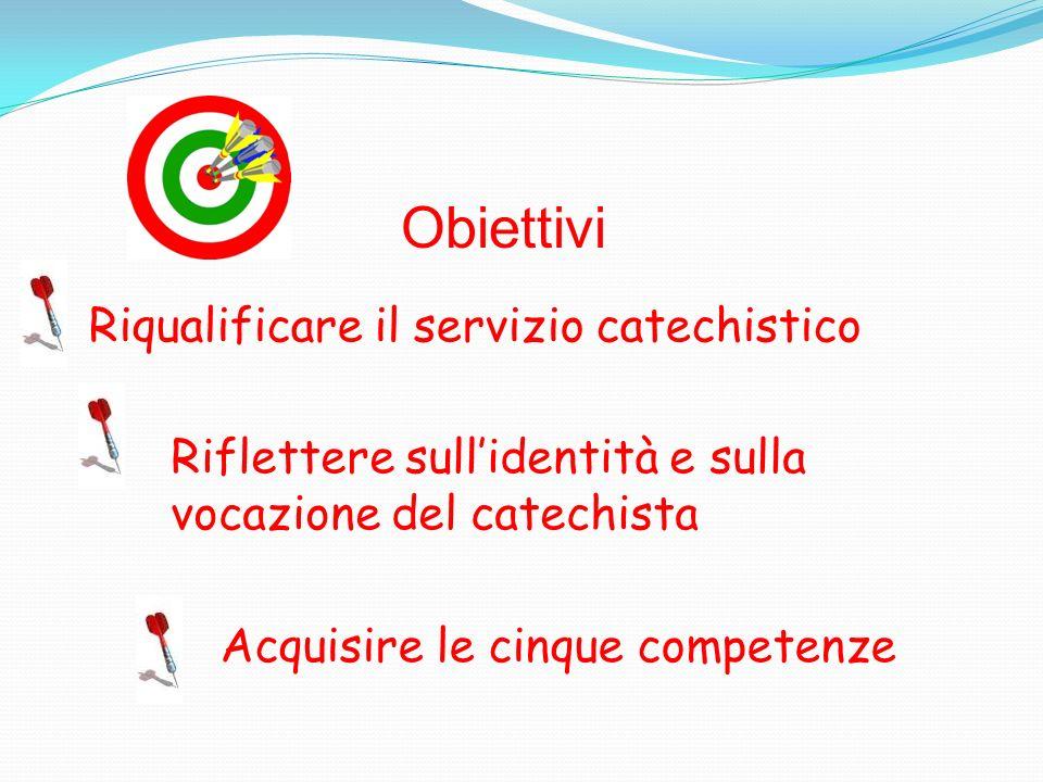 Obiettivi Riqualificare il servizio catechistico
