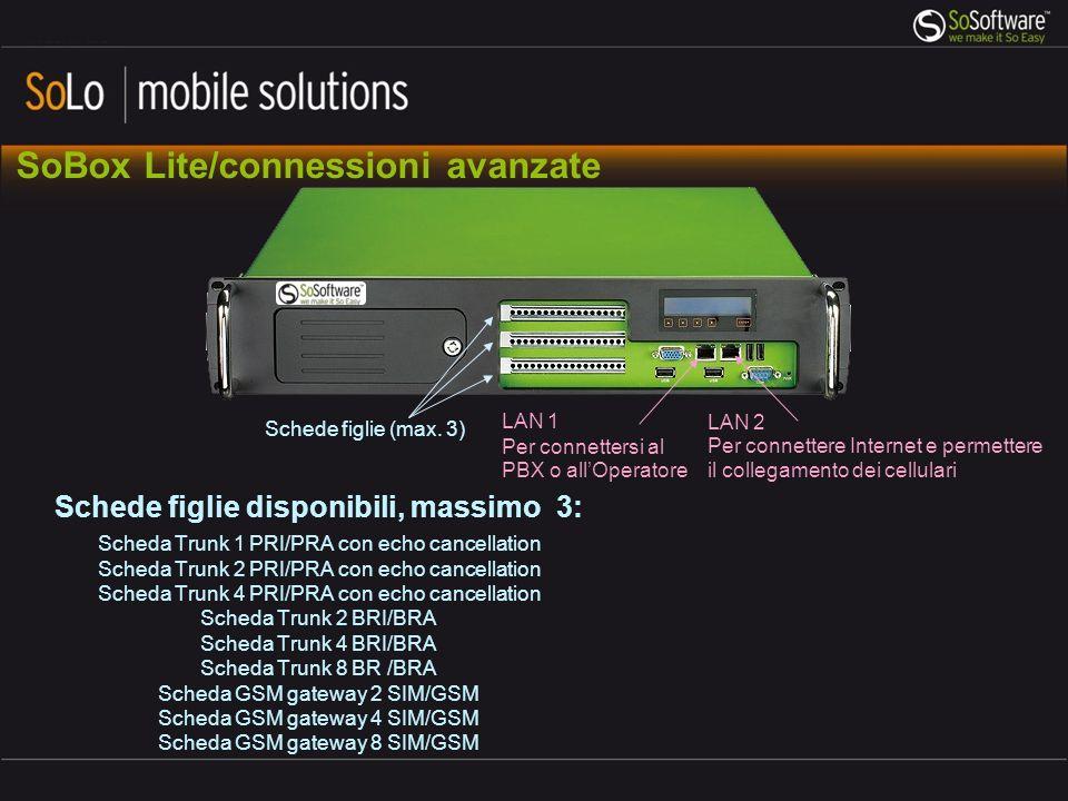 SoBox Lite/connessioni avanzate
