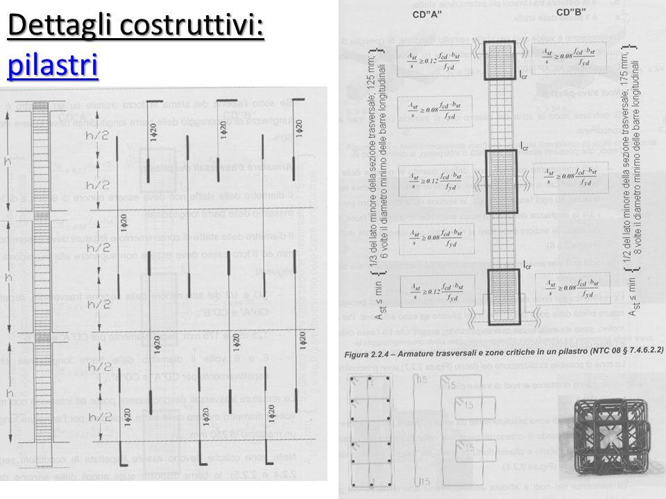 Dettagli costruttivi: pilastri