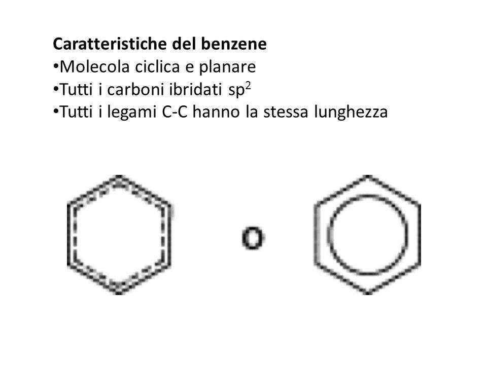 Caratteristiche del benzene