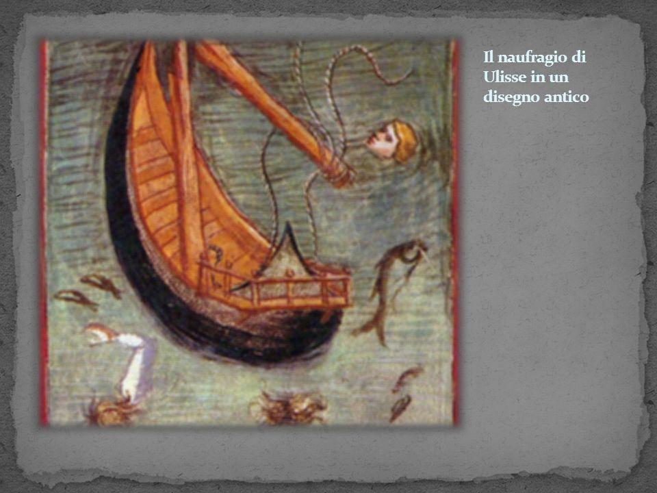 Il naufragio di Ulisse in un disegno antico