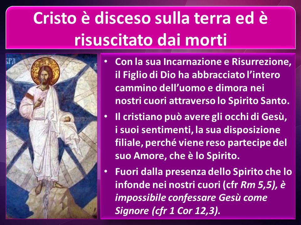Cristo è disceso sulla terra ed è risuscitato dai morti