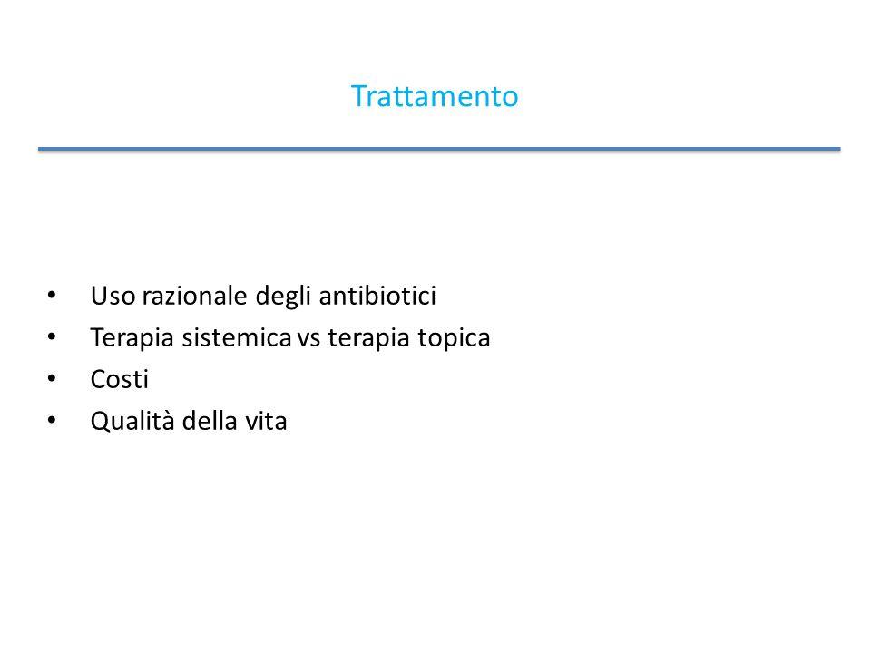 Trattamento Uso razionale degli antibiotici