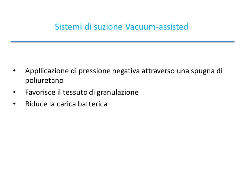 Sistemi di suzione Vacuum-assisted