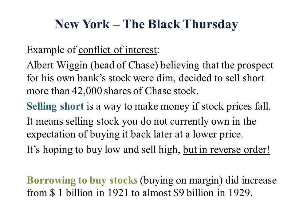 New York – The Black Thursday