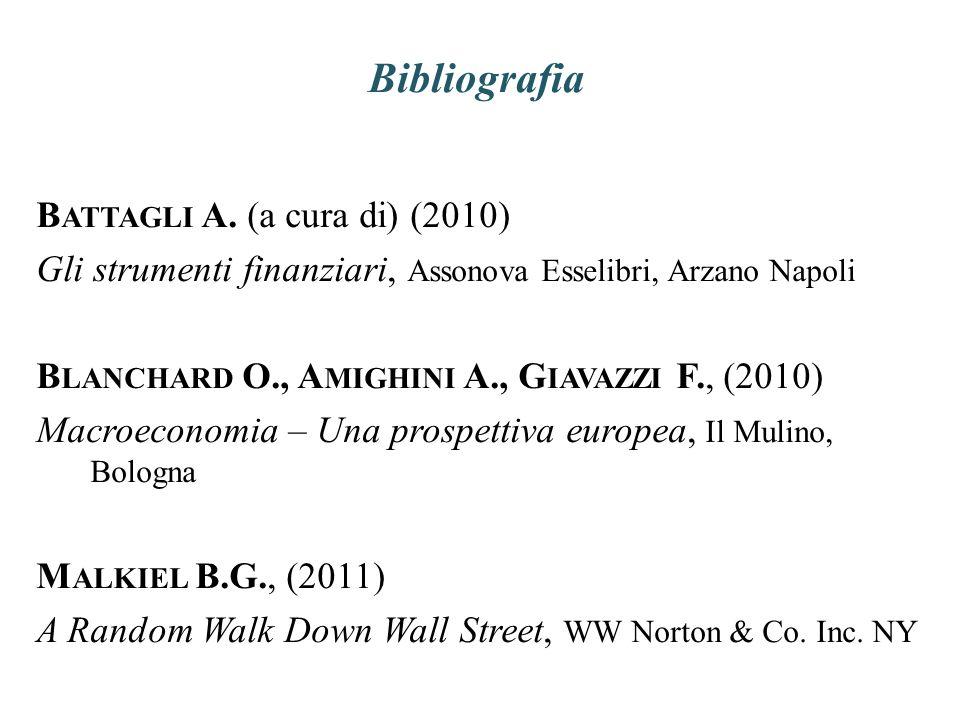 Bibliografia Battagli A. (a cura di) (2010)
