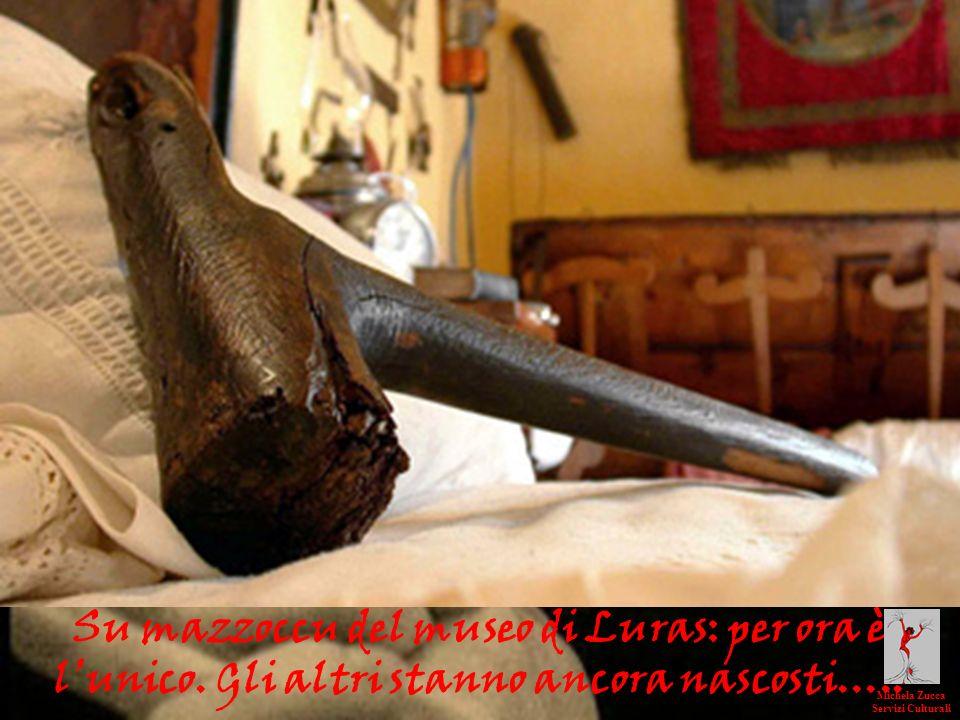 Su mazzoccu del museo di Luras: per ora è l'unico